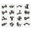 C.I. Pipe Fittings Double Flanged