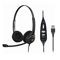 Wireless grey Sennheiser SC 260 USB Headsets
