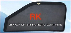 Zipper Magnetic Car Sunshades
