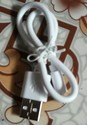 White Original Power Bank Data Cable