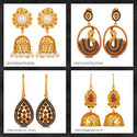 Traditional Diamond Earrings Jewelry