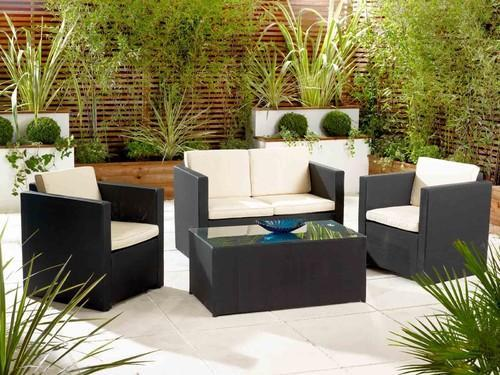 Dark Chocolate Brown Outdoor Living Room Furniture Rs 80000 Set Id 4844055473