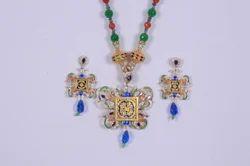 Thewa Meenakari Jewellery