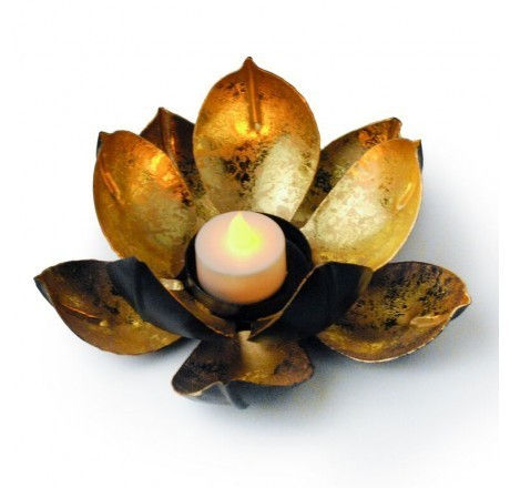 Lotus flower candle holder sajavti mombatti holder lotus flower candle holder mightylinksfo