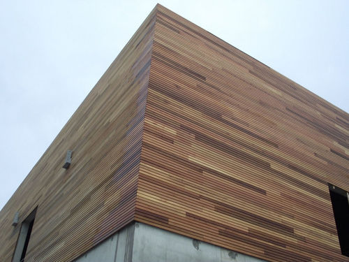 Exterior Wood Wall Cladding At Rs 180 Square Feet Wood