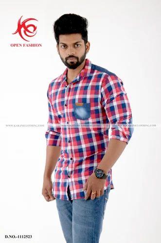 Mix And Match Shirts Men S Denim Shirts Wholesaler From Chennai