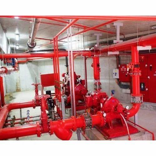 Home Fire Sprinkler System Design: Wet Riser System Wholesale Trader