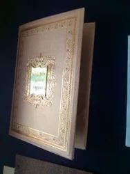 Folded Wedding Card