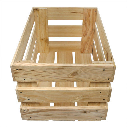 Wonderful Large Wooden Crate