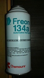R-134A Refrigerant Gas Can Dupont/Freon