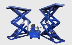 Mobile Hydraulic Lift for Material Handling