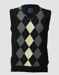 Men Half Sweater