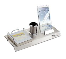 Pen Stand With Mobile Holder And Memo Pad Holder