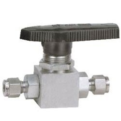 Single Ferrule Tube Ends Two Way Ball Valves
