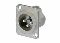 Metal XLR Socket Male Connector, for Multimedia, Standard