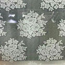 Cotton Embroidered Jacquard Silk Mesh Flower Net Fabrics