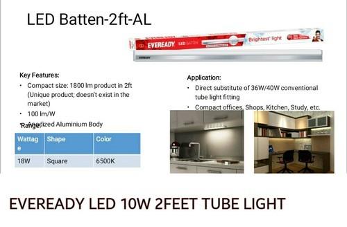 Eveready Led Tube Light 10w 2 Feet