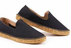 Canvas Espadrille Shoes For Men And Women - Plain Toe
