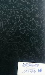 Black Or White Or As Desired bombay products Raymond Cotton Fabric, GSM: 100-150 GSM, for linings