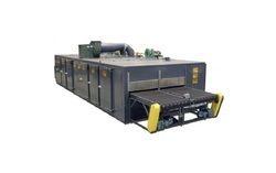 Water Drying Conveyor Oven