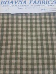 Yarn Dyed Cotton Check Fabrics
