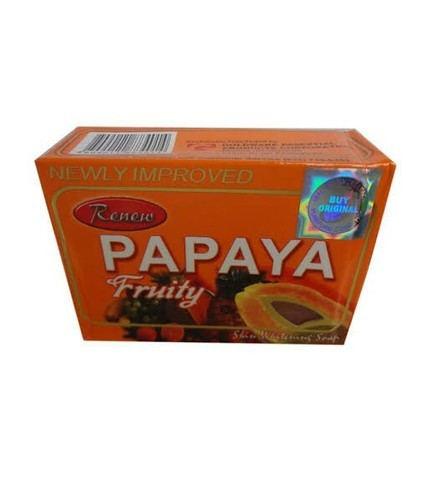 Papaya Fruity Skin Whitening Soap, For Personal, Rs 149 ...