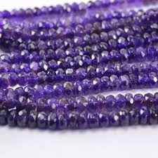 Faceted Stone Bead