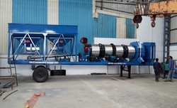 Mobile Asphalt Drum Hot Mix Plant