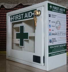 Metal First Aid Box- Small