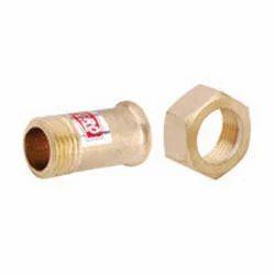 Brass Water Meter Nut Nipple