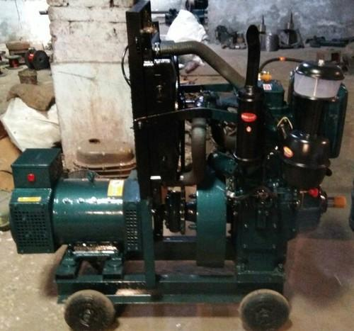 Generator 10kva At Rs 40000 Set Water Cooled Diesel Generator Id 15572510912