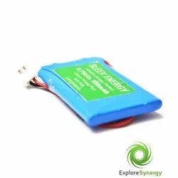 900 mAh Lithium Polymer Battery