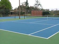Asian Flooring Acrylic Tennis Court Flooring