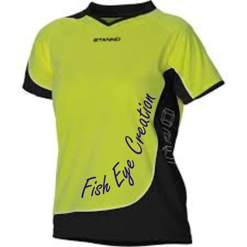 Cricket Sports T Shirt, Cricket T Shirt - Fish Eye Creation, Delhi ...