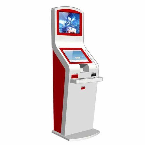 Dual Display Touch Screen Kiosk