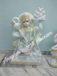 Marble Lord Hanuman God Statues