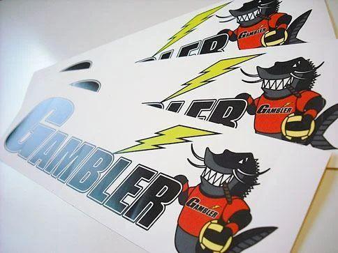 Pvc sticker printing