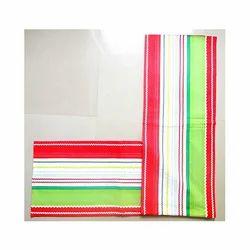 Yarn Dyed Multi Colour Rick Rack Table Runner, Size: 33x150 Cms