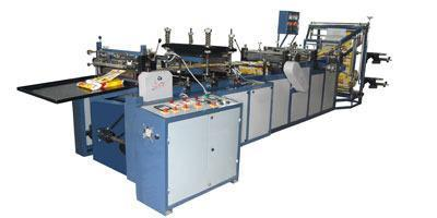 Electric 3 Side Seal & Center Seal Pouch Making Machine, 440 V, Rs 950000  /unit | ID: 4892422048