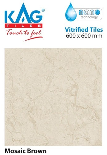 Gloss Ivory Base 600x600 Kag Vitrified Tiles Thickness 6 8 Mm Rs 17 Square Feet Id 19650485291