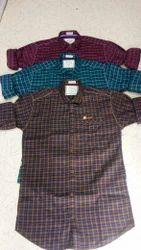 Striped Casual Wear Men's Cotton Shirt