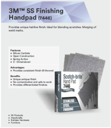 3M SS Finishing Hand Pad