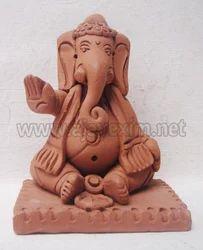 Meditating Buddha Ganesha Statue