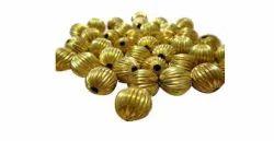 Kharbuja Brass Beads 6Mm. 650 Per Kg