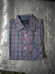 Topman white printed and red Shirt