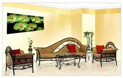 Decorative Mild Steel Indoor Sofa Set