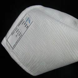 Cotton Jacquard White Dinner Napkin