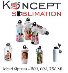 Metal Sippers - 500ml, 600ml, 750 ml - Sublimation Sipper