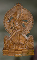 Wooden Natraja Sculpture
