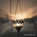 Glass Colour Hanging Lantern